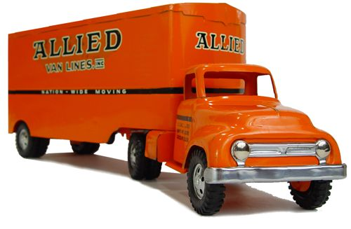 1954 Allied Van Lines Semi Truck