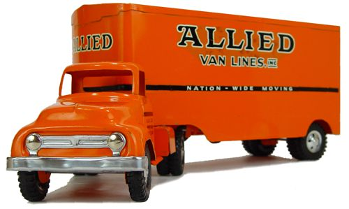 1954 No. 400-4 Allied furniture Van