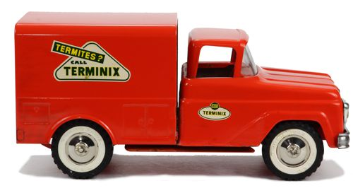 1961 Tonka Terminix Service Truck With Box Private Label  Pass Side View