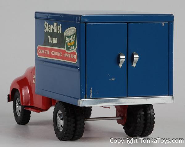 Tonka Toy Trucks >> Selling Tonka Toys? 1954 Star-Kist Box Van #725