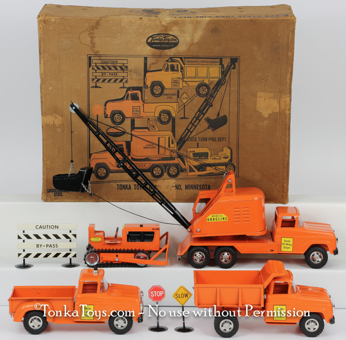 I Buy Tonka Toys Boxed Sets