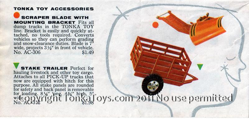 Selling a Tonka? 1957 Tonka Look Book Details - all Items