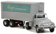 1956 Tonka Toys Prototype Kroger Private Label Semi and Trailer