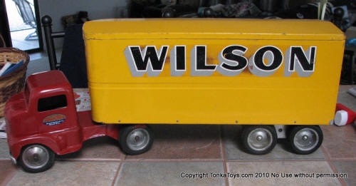 Private Label Tonka Wilson Truck