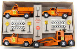 1956 Highway Construction Set Boxed