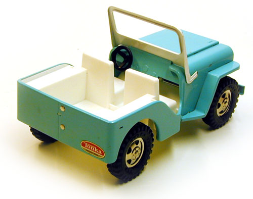 Selling Tonka Toys 1962 Jeep Dispatcher 200