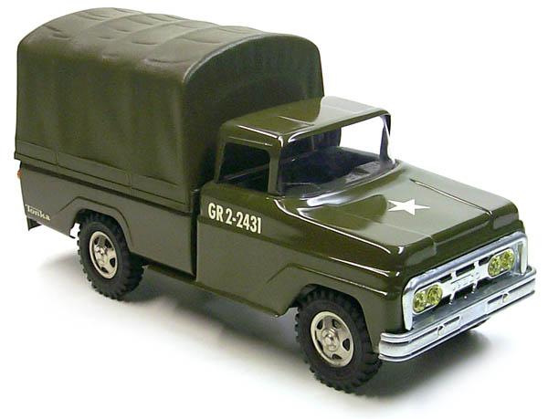 Tonka 1964 Troop Carrier #380 Pressed Steel GR2-2431